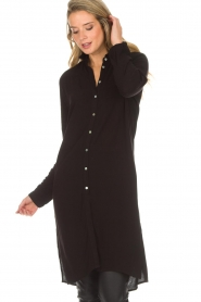 Aaiko |  Tunic dress Coa | black  | Picture 2