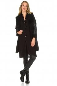 Aaiko |  Tunic dress Coa | black  | Picture 3