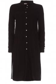 Aaiko |  Tunic dress Coa | black  | Picture 1