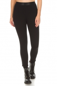 Aaiko |  Leggings Paule | black  | Picture 4