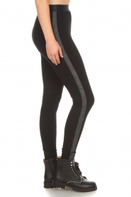 Aaiko |  Leggings Paule | black  | Picture 3