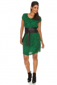 Aaiko |  Dress Madrid | green  | Picture 3