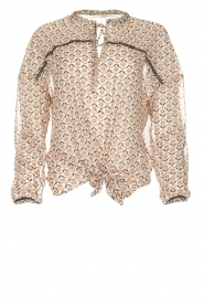 Aaiko |  Blouse Soury | camel  | Picture 1