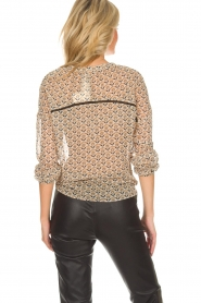 Aaiko | Blouse Soury | camel  | Afbeelding 4