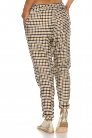 Aaiko |  Checkered trousers Checks | camel  | Picture 5