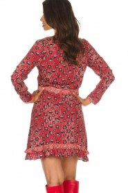 Aaiko |  Dress Media | red  | Picture 5