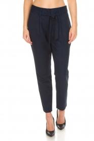 Aaiko |  Pantalon Checks | blue  | Picture 2