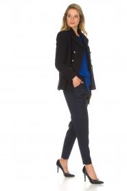 Aaiko |  Pantalon Checks | blue  | Picture 3