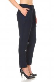 Aaiko |  Pantalon Checks | blue  | Picture 4