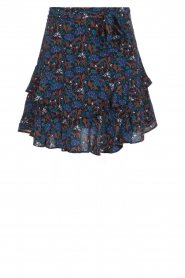 Aaiko |  Skirt with ruffles Lavana | blue   | Picture 1