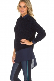Aaiko |  Sweater Nille | blue  | Picture 4