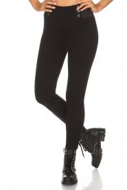 Aaiko |  Leggings Paulia | black  | Picture 3