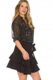 Aaiko |  Skirt Lavana | black  | Picture 4