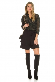 Aaiko |  Skirt Lavana | black  | Picture 3