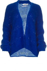 Aaiko |  Cardigan Dylene | blue  | Picture 1