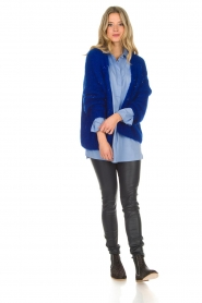 Aaiko |  Cardigan Dylene | blue  | Picture 3