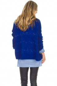 Aaiko |  Cardigan Dylene | blue  | Picture 6