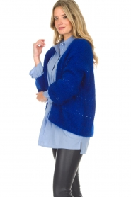 Aaiko |  Cardigan Dylene | blue  | Picture 5