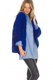 Aaiko |  Cardigan Dylene | blue  | Picture 4