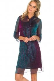 Aaiko |  Glitter dress Tabora | multi  | Picture 2