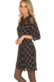 Aaiko |  Dress with lace details Ciri | black  | Picture 5