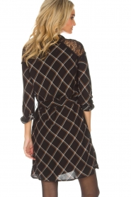 Aaiko |  Dress with lace details Ciri | black  | Picture 6
