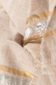 I love my Moment |  Scarf Filippa | beige  | Picture 4