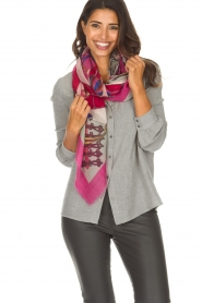 I love my Moment |  Scarf Fuske | pink  | Picture 2