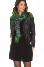 I love my Moment |  Scarf Fianna | green  | Picture 2