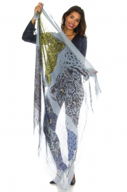 I love my Moment |  Scarf Fianna | blue  | Picture 4