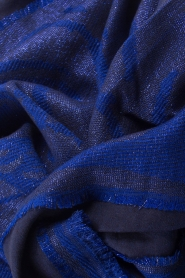 I love my Moment | Sjaal Fhiena | blauw  | Afbeelding 4