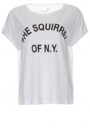 T-shirt Squirrel | wit