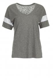 Juvia | T-shirt Jules | grijs  | Afbeelding 1