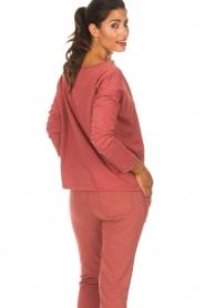 Juvia | Sweatshirt sue | rood  | Afbeelding 8