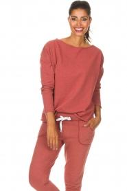 Juvia | Sweatshirt sue | rood  | Afbeelding 4