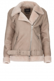 Set |  Lammy coat Amarins | grey  | Picture 1