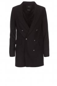 Set | Double-breasted blazer Carmen | zwart  | Afbeelding 1