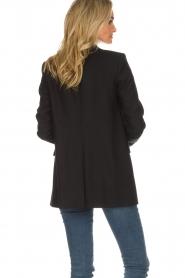 Set | Double-breasted blazer Carmen | zwart  | Afbeelding 6