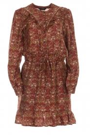 Set |  Floral dress Marinella | brown  | Picture 1