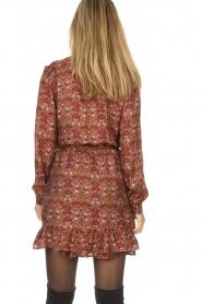 Set |  Floral dress Marinella | brown  | Picture 6