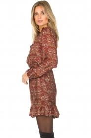Set |  Floral dress Marinella | brown  | Picture 5