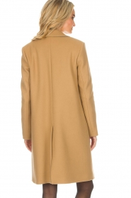 Set |  Woolen coat Amanda | camel  | Picture 6