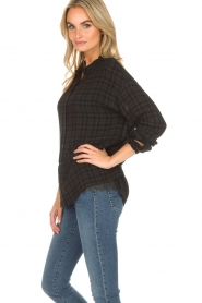 Set |  Checkered blouse Pip | green  | Picture 5