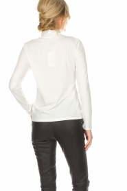 Set |  Turtleneck top Nadine | white  | Picture 5