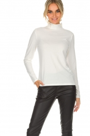 Set |  Turtleneck top Nadine | white  | Picture 2