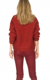 Set |  Knitted cardigan Vieve | red  | Picture 6