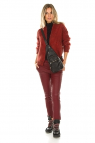 Set |  Knitted cardigan Vieve | red  | Picture 3