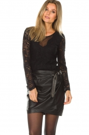 Set |  Lace top Chayenne | black  | Picture 2