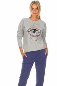 Set |  Sweater Monica | grey  | Picture 4