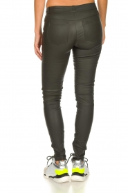 Set |  Leather pants Nadine | grey  | Picture 5